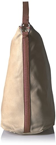 Hallowell with Detail Metro Berlin Leather Hobo Women's Ring Sand Liebeskind XEBqFwH