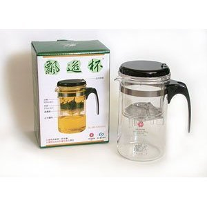 Piao Perfect Infusion Tea Pot/Coffee Pot with Stainless Steel Built-in Filter and Infuse