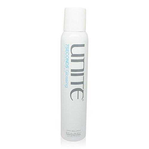 Unite 7 Seconds Glossing Hair Spray for Unisex, 6 Ounce