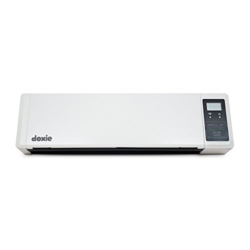 Doxie Q - wireless rechargeable document scanner with automatic document feeder (ADF) by Doxie