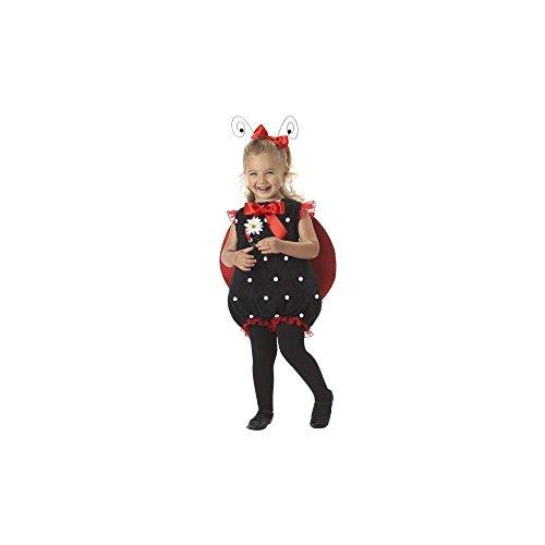 California Costumes Lil' Lady Bug Romper, Red/Black, 18-24 Costume]()
