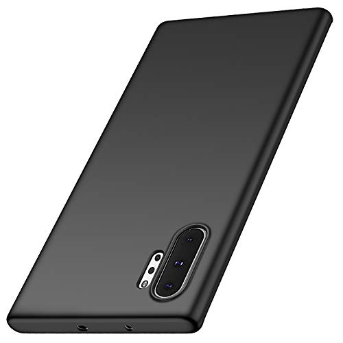 anccer Compatible for Samsung Galaxy Note 10+ Plus/5G Case Ultra Thin Fit Premium PC Material Slim Cover for Galaxy Note 10+ Plus/5G (Black) ()