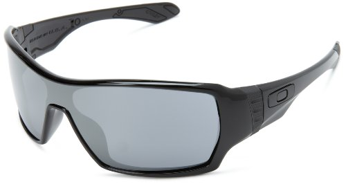 Oakley Offshoot OO9190-03 Iridium Wrap Sunglasses,Polished - Wrap Sunglasses Oakley