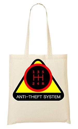 Anti Theft System Bolso De Mano Bolsa De La Compra