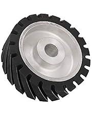 Rubber Belt Grinder Contact Wheel