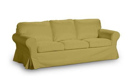 Cover For Ikea Ektorp 3 Seater Sofa Bed Old Model In Kampen Green