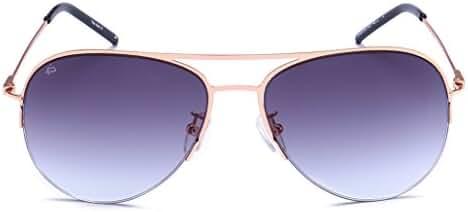 "PRIVE REVAUX ""The Ace"" Handcrafted Designer Aviator Sunglasses"