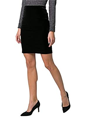 LE CHÂTEAU Velvet Pencil Skirt