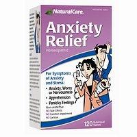NaturalCare: soulagement de l'anxiété, 120 onglets