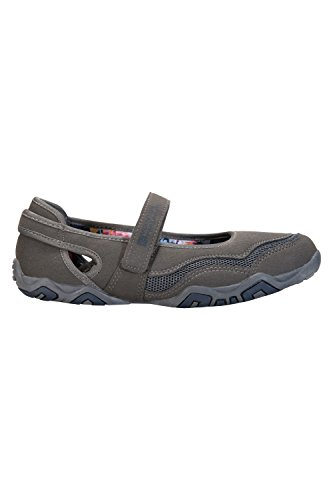 Magda et Warehouse Gris respirables chaussures femmes de maille de synthétique dames chaussures EVA Mountain Les chaussures Footbed d'été supérieures des de g5Pxqg1d