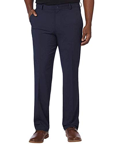 Greg Norman Mens ML75 Ultimate Travel Golf Pants (36W x 32L, Navy) (Timeless Travel Pant)
