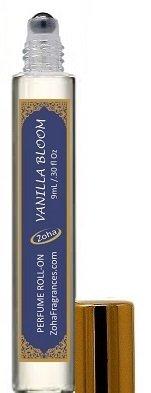 Vanilla Bloom (Roll-On) Vanilla Oil Perfume by Zoha Fragrances, 9ml/0.30 fl Oz (Amber Vanilla Perfume Oil)