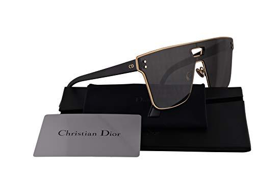 Dior Sunglasses Grey Lens - Christian Dior Diorizon1 Sunglasses Gold w/Grey Lens 99mm J5G2K Diorizon1S Diorizon1/S Diorizon 1S Diorizon 1/S Diorizon 1