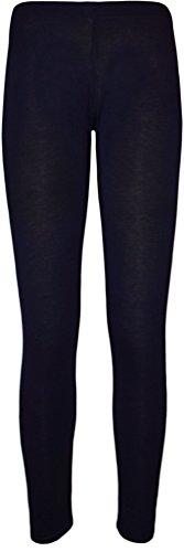WearAll Women's Plus Size Plain Leggings - Navy Blue - US 20-22 (UK 24-26)