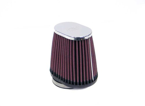K&N RC-2900 High Performance Universal Clamp-on Chrome Air Filter