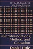 Microfoundations, Methods, and Causation : On the Philosophy of the Social Sciences, Little, Daniel, 1560003693