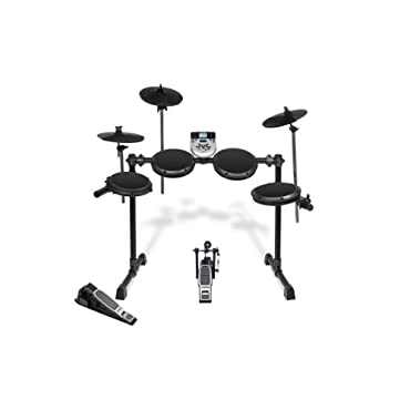Alesis DM7X Session Kit Complete Compact Electronic Drum Set With 3 Toms, Dual Zone Snare Pad, Kick Drum, Bass Drum Pedal, (3) Cymbals, Hi-Hat Pedal, and More