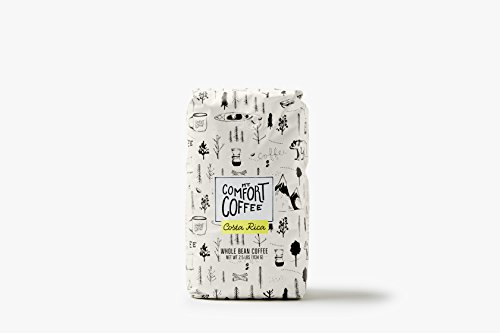 Mount Comfort Coffee Whole Bean Coffee, Costa Rica, 2.5 Pound