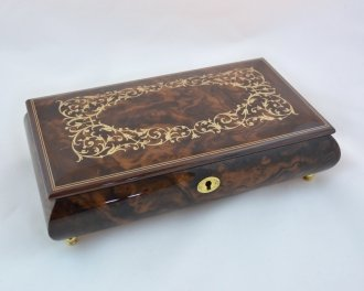 大きい割引 Made In Italy Impossible 18-notes Sorrento Inlaid ClassicoパターンデザインMusicbox – ( Impossible Dream ( Sankyo 18-notes ) B01CLLHKLM, Cat&Dogのお店 わんぱく 伊豆高原:642df799 --- arcego.dominiotemporario.com