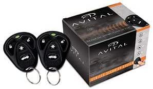 Avital 3100LX Security System (W/O Siren)