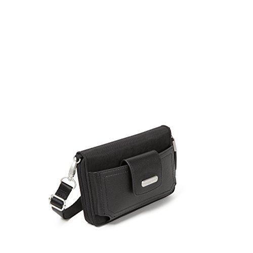 Crossbody Phone RFID Black Baggallini Wallet 4B6xwfOaq