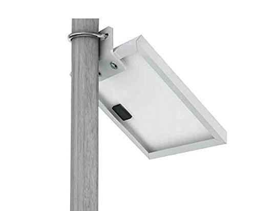 Solar Panel Universal Side of Pole- Wall Mounting Kit for 5 Watt Solar Panels -
