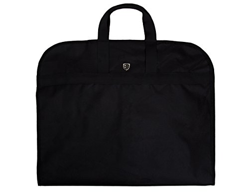 BAGSMART Lightweight Nylon Foldable Carrier Garment Bag for Suits and Dresses
