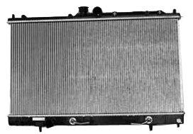 TYC 2448 Mitsubishi Lancer 1-Row Plastic Aluminum Replacement Radiator (Mitsubishi Lancer Radiator compare prices)