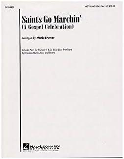 Saints Go Marchin In (A Gospel Celebration)- Instrumental Parts ...