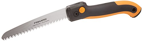 "Fiskars 7"" Power Tooth Softgrip Folding Saw-(390680-1001)"