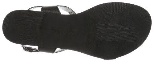 schwarz Shoes black Donna 100 Sandali Nero Nera Marc AqzXFz