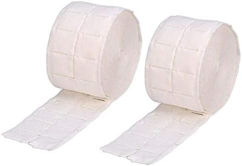 2 Rollo Pads de celulosa para uñas de 500 Strappi Nail Art quitar ...