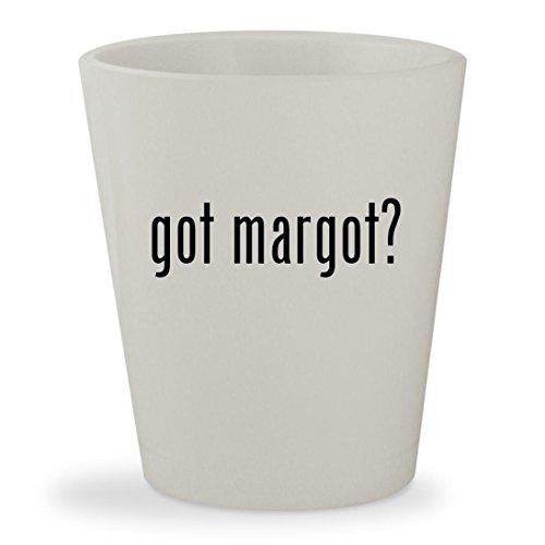 got margot? - White Ceramic 1.5oz Shot - Coat Margot Tenenbaum
