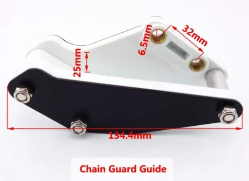 AIBOAT Universal Motorcycle Chain Guide Guard Sprocket Protector Slider for CRF70 BBR KLX TTR