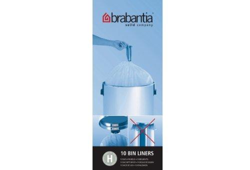 Bolsas de basura Brabantia Smartfix, 40-50 litros [H] [10 ...