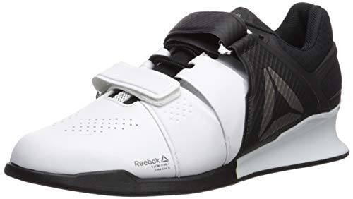 Reebok Men's Legacylifter Cross Trainer,white/black/pewter,13 M US