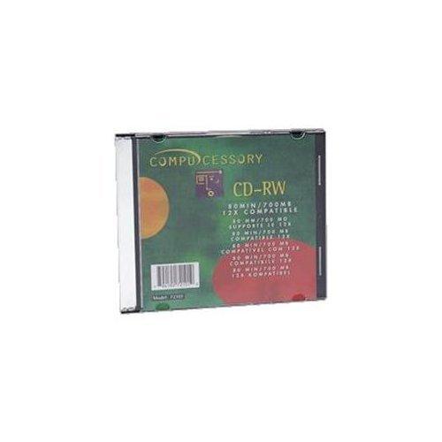 Compucessory CCS72102 CD Rewritable Media - CD-RW - 12x - 700 MB - 50 Pack S.P. Richards Company