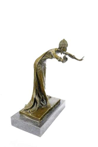 Collectible Bronze Art Nouveau CHIPARUS Statue