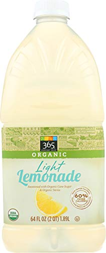 365 Everyday Value, Organic Light Lemonade, 64 fl oz