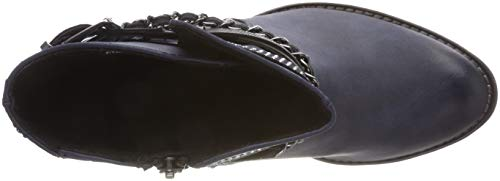 25344 Ankle 21 Women's Blue Boots Dk 898 Navy Marco c Tozzi A xEwIqnY1