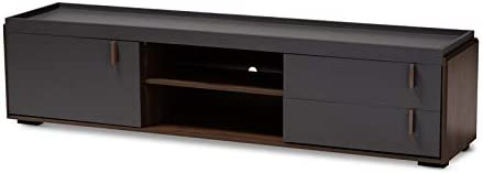 Baxton Studio Rikke 78″ Wood TV Stand