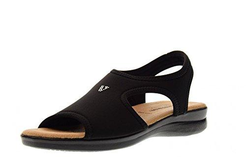 Chaussures Noir VALLEVERDE Noir Sandales Femme 25322 wFF8Pq