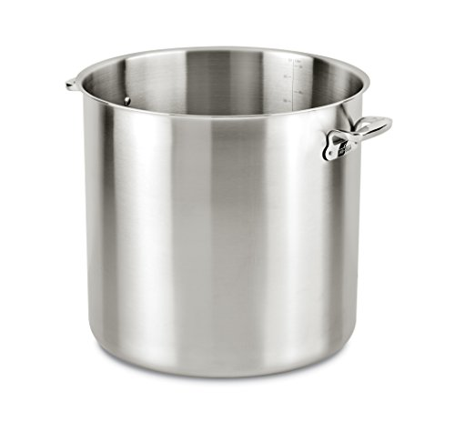 All-Clad E7497864 Stainless Steel Stockpot, 100 quart, Silver