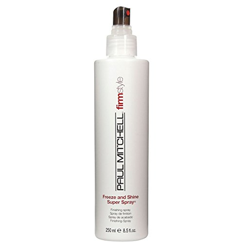Paul Mitchell Freeze and Shine Super Spray Unisex, 8.5 - Shine Paul Mitchell Spray