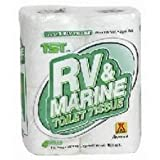 Camco 40276 RV 1-Ply Toilet Tissue – 4 Rolls