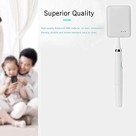 GMFOSEOZ Portable UV Toothbrush Sterilizer Single Electric Toothbrush Sanitizer For Travel//Business//Home Sterilizing White