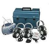 HECHMCCD3856SV - DELUXE CD amp; CASSETTE LISTENING