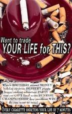 Poster #156 Anti-Cigarette Poster