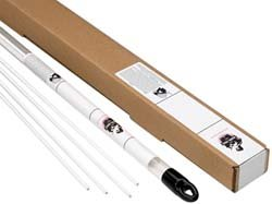 36 Inch Long, 1/8 Inch Diameter, Bare Coated, Low Fuming Bronze, TIG Welding and Brazing Rod 1 Lb, Industry Specification RBCuZn-C, 1 Pound Tube