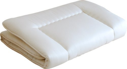 EMOOR Futon Mattress (Shikibuton) 'Rococo', Twin Size. Made in Japan
